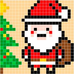 Kerstman | Pixel Party
