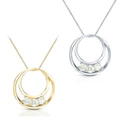 Baguette Diamond Pendant in Solid Gold / Diamond Necklace / Round Disc Pendant with Baguette / Gold Necklace / Birthday Gift for Her J Necklace, Circle Necklace, Diamond Pendant Necklace, Diamond Necklaces, Wedding Ring Necklaces, Wedding Rings, Or Rose, Jewelry Rings, Jewellery Box