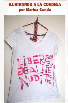 T-shirt by www.lacondesa.es