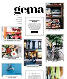 GEMA - Personal Blogging Theme by Pixelgrade