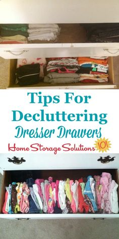 Tips for declutterin
