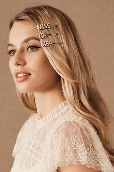 Bridal Accessories & Wedding Accessories for Brides – BHLDN – Hair Accessories Diy 2020 Try New Hairstyles, Face Shape Hairstyles, Sleek Hairstyles, Hairstyles For Round Faces, Trending Hairstyles, Straight Hairstyles, Bridal Hairstyles, Ombre Hair, Blonde Hair