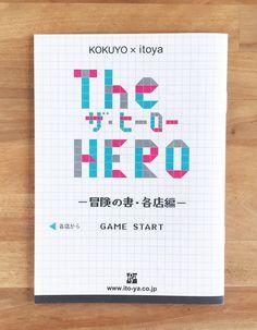 小さめパンフレットのデザイン26種   Design Peeji   様々なことをデザインと結びつけて考えます。 Hero Games, Eye For Beauty, Game Start, You're Awesome, The Funny, Typography, Logo, Google, Design