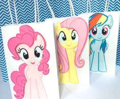 My Little Pony Favor Bags My Little Pony by Pinkpaperglitz on Etsy