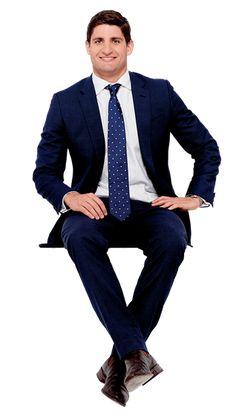 traje sentado