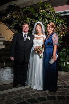 Vestido noiva e mãe