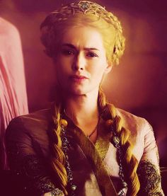 "The look I get when people just annoy the crap out of me. Love Cersei's ""Bitch Face""!"