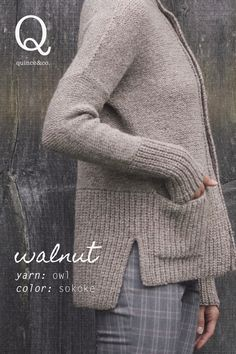 27 ideas crochet cardigan sweater pattern inspiration for 2019 Knitting Blogs, Knitting Stitches, Knitting Patterns, Sewing Patterns, Crochet Patterns, Crochet Ideas, Knitting Projects, Knitting Sweaters, Crochet Slippers