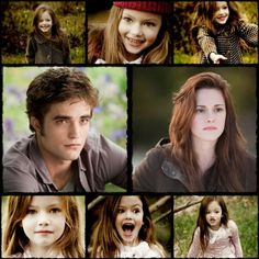 Image detail for -... renesmee mackenzie foy kristen stewart fan art edward cullen breaking