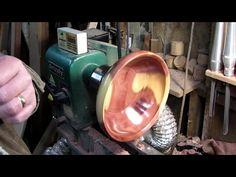 Woodturning - Tumbling bowl xl - YouTube