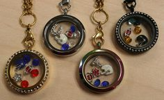 NFL AFC South Football Team Lockets, Houston Texans, Indy Colts, Jacksonville Jaguars, Tennessee Titans  ~ Compatible with Origami Owl