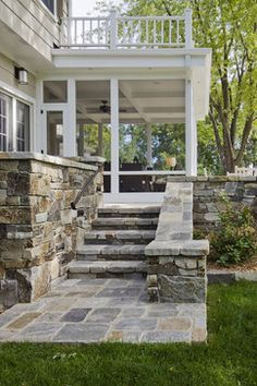 screened in porch under deck - porch - minneapolis - Partners 4, Design