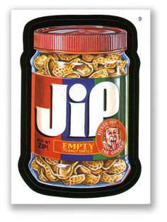 Wacky Packages Topps 4th Series 2006: Jip - #9