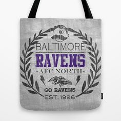 Baltimore Pride, Grey and purple distressed crest.  Tote Bag by Kristy Patterson Design - $22.00