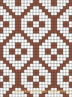 Ideas crochet patterns tapestry for 2019 Tapestry Crochet Patterns, Fair Isle Knitting Patterns, Knitting Blogs, Knitting Charts, Weaving Patterns, Knitting Stitches, Embroidery Patterns, Cross Stitch Patterns, Sock Knitting
