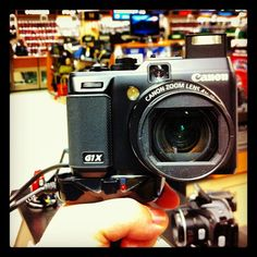 Canon PowerShot G1X - 14.3 Megapixels with APS-C sized sensor, in a point-and-shoot camera!