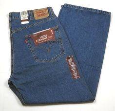 "Mens Levis Loose Straight 569 Denim Color 4550 Med Blue Size 38"" x 30"" New #Levis #LooseStraight"