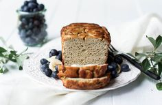 Paleo Blender Banan Bread is so tasty and has a perfect cut. The inside of this grain free and paleo banana bread is light and smooth with soft banana taste