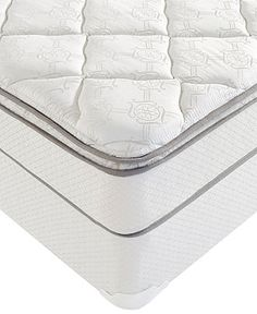 Macybed Queen Mattress Set, Pillowtop Cushion Firm Anniversary - LIMITED-TIME SPECIALS - mattresses - Macy's 279$