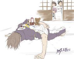 Heshikiri Hasebe (へし切長谷部) Art Hoe, Manga Boy, Touken Ranbu, Anime Characters, Sword, Kawaii, Fan Art, Drawings, Fandom