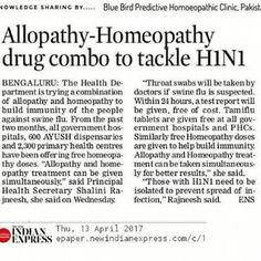 Homeopathic medicine for treatment of H1N1 swine influenza
