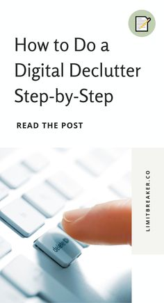 Declutter your digital life with this ultimate guide. A complete how-to to do a digital declutter on your phone, computer, email and more. Online Entrepreneur, Business Entrepreneur, Happy Facebook, Time Management Tools, Small Business Start Up, Baby On A Budget, Busy At Work, Business Inspiration, Business Advice