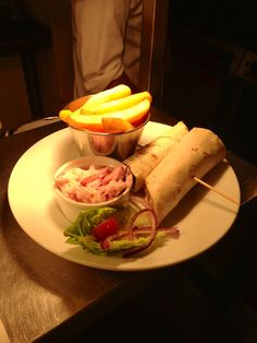 Why not try one of our delicious sticky chicken wraps, only £2.99 on it's own for V-Card holders! #bargain