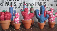 cactus de tela | UnaOcaLoca