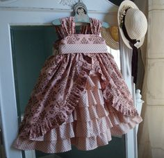 I LOVE this dress!!!! I need another little girl to dress up!!