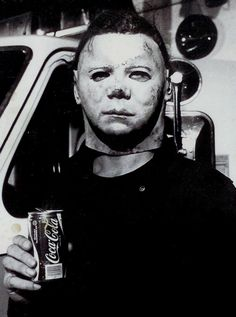 Behind the scenes in HALLOWEEN II (1981).