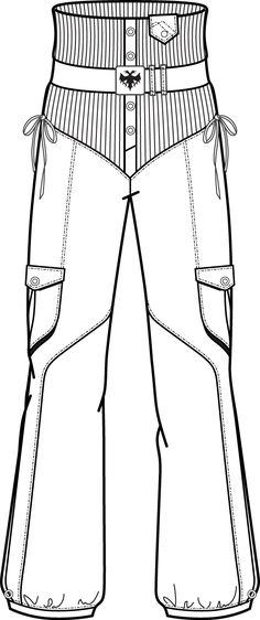 Get ideas about Fashion Templates in Illustrator on Prestige Pro Design. Buy the best fashion templates & flats Sketches online for Men, Women and Kids. Fashion Flats, Fashion Art, Editorial Fashion, Trendy Fashion, Flat Drawings, Flat Sketches, Clothing Sketches, Fashion Templates, Illustration Mode