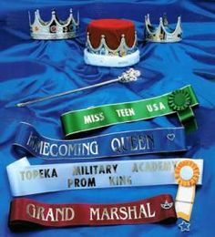 Order a sash for your Killing For The Crown party! Queen Birthday, 11th Birthday, Birthday Parties, Trinity 7, Prom King And Queen, Miss Teen Usa, Crown Party, Mystery Parties, Awareness Ribbons