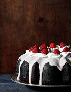 Dark Chocolate Bundt Cake. http://www.hebertcandies.com/