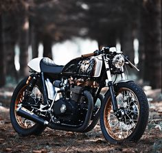 Kuri Kuldnokk HONDA CB500T | Return of the Cafe Racers - https://www.pinterest.com/dapoirier/motorcycles/