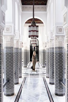 24 Hours in Marrakech, Morocco The place to take photograph of hallway Lodge Mamounia Marrakesh Morocco through finduslost Marrakech Travel, Marrakech Morocco, Morocco Travel, Casablanca, Westerns, Tourism Day, Online Travel, Mexico Travel, Solo Travel
