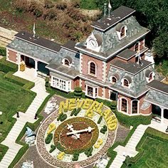 I'm in L.A. Right now and I'm planning on going to Neverland but I hear it's been renamed Sycamore Ranch or something like that and that you can't go in. It makes me so sad. His children should be the ones to own this place.