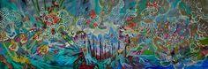 "Saatchi Online Artist Lia Porto; Painting, ""It's the City"" #art"
