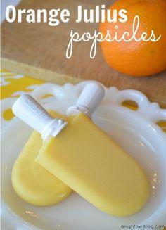 Orange Julius Pops | 10 homemade popsicle recipes for summer | #BabyCenterBlog