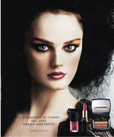 Chanel Makeup Fall 2005 Ad