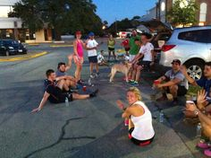 Preston/Forest field trip Social Run. #SocializedByRunOn