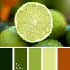 монохромная зеленая цветовая палитра, монохромная цветовая палитра, оттенки зеленого, подбор цвета, рыже-коричневый, серый, цвет базилика, цвет зеленого чая, цвет зеленого яблока, цвет лайма, цветовое решение для дизайна помещений, яркий
