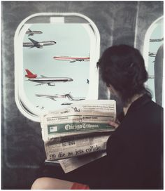 Airplane Window #1, 1984 - Patrick Nagatani