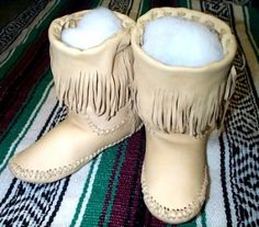 HALF BOOT MOCCASINS, Native American Artifacts | Native American Clothes | Native American Regalia | Native American Tomahawk | Native American Headdress | Cherokee Visions