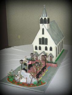 3d church cakes - Google Search