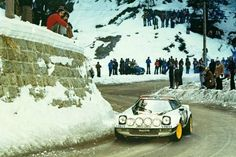 Lancia Stratos winner during 1975 until 1979 - Rallye Monte Carlo Auto Motor Sport, Sport Cars, Race Cars, Monte Carlo, Rally Car, Car And Driver, Racing, In This Moment, Cross Country