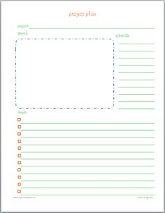 Crafts and Projects Printables