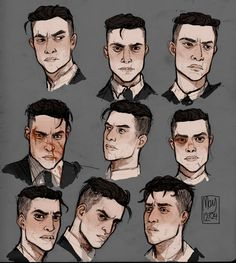 "may12324: ""Here, have some Kaz Brekker designs while I slink back into the corner of my room. Being simultaneously unproductive and busy. I am currently working on commissions and my own story designs. "" Don't mind if I do. (love beat up Kaz. Don't..."