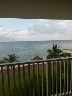 View from our room...Jamaica