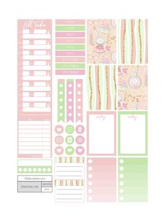 Dolled Up Planner Stickers