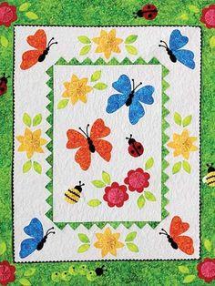 Garden Frolic Quilt Pattern.